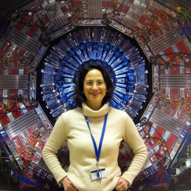 La investigadora María Chamizo. Créditos: Michael Hoch