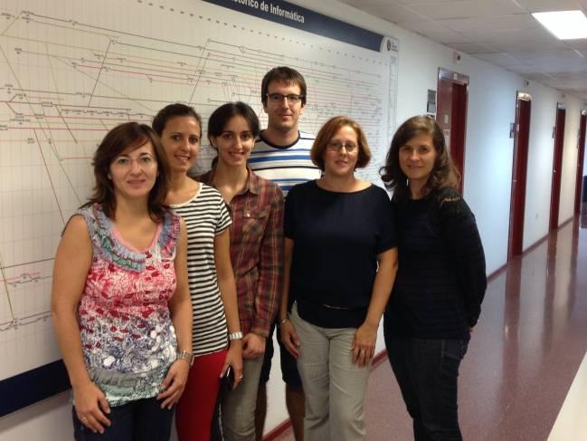 Investigadores del Departamento de Lenguajes y Ciencias de la Computación de la Universidad de Málaga / Fundación Descubre
