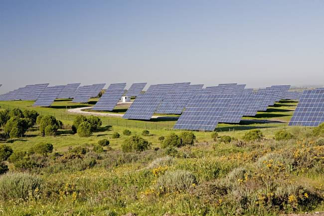 Planta de energía solar fotovoltaica. Fuente: UPM.