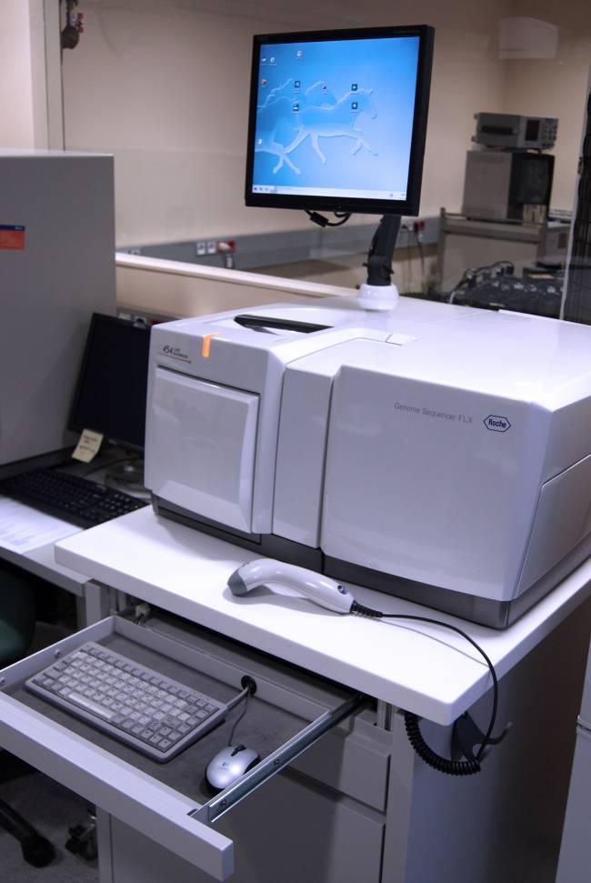 El pirosecuenciador GS-FLX