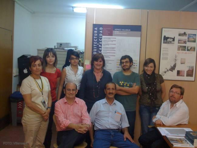 El equipo de investigación está formado por arquitectos, historiadores y arqueólogos del Institut National de Patrimoine (Túnez) y de la Universidad de Valladolid.
