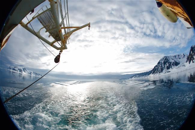 Campaña ATP sobre cambios climáticos bruscos en el Ártico.