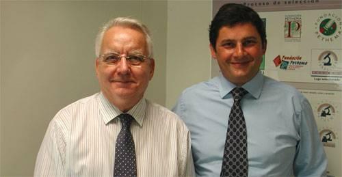 Los doctores Emili Montserrat y Francesc Bosch