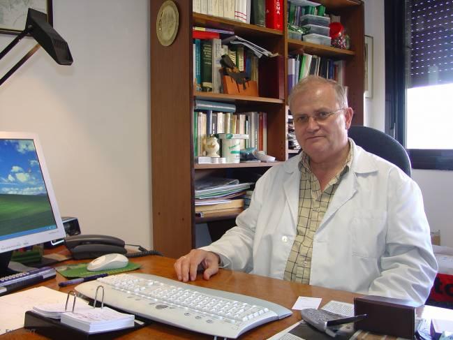 Carlos Domínguez Tejerina, catedrático de Reproducción Animal de la Universidad de León y director de Centrotec.