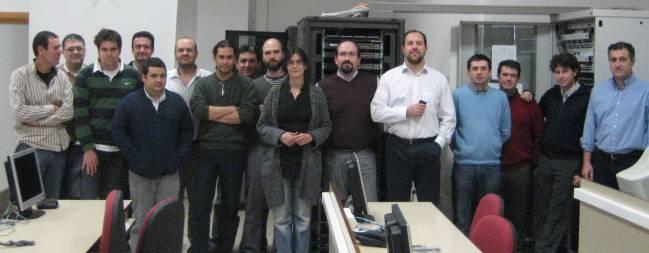Investigadores participantes en el proyecto de excelencia de la UJA