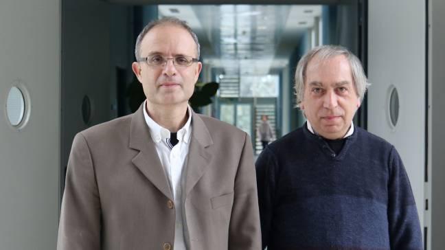Maurici Ruiz y Jaume Corbera. Foto: UIB