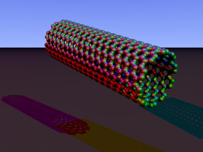 Nanotubo de carbono. Wikipedia
