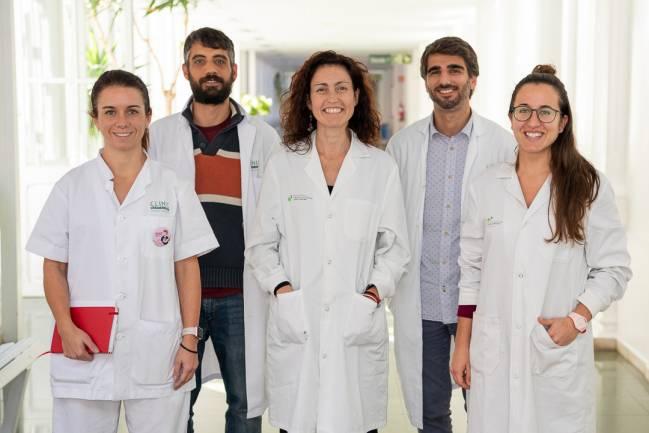 Autores del estudio del Instituto Josep Carreras y del Clínic-IDIBAPS