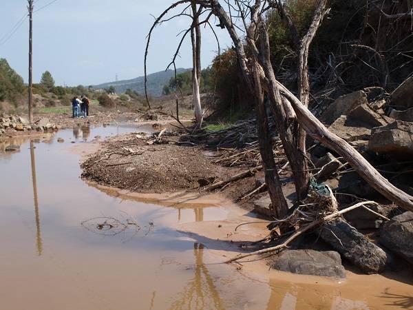 Un tercio de los sistemas fluviales de todo el Estado tiene un exceso de sales, lo que supone un problema con graves impactos medioambientales, económicos y de salud global.Fotografía: Rubén Ladrera, Universidad de La Rioja