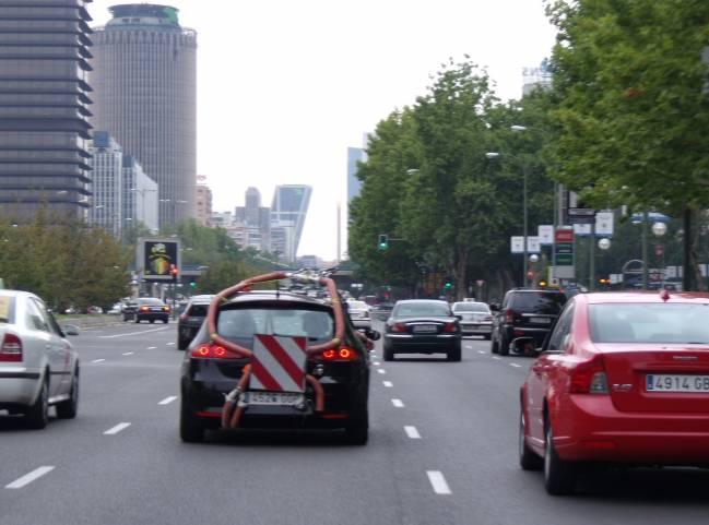 vehículo con el equipo MIVECO