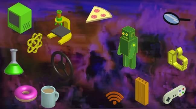 Captura de la intro de los vídeos de divulgación científica de Carlos Santiuste