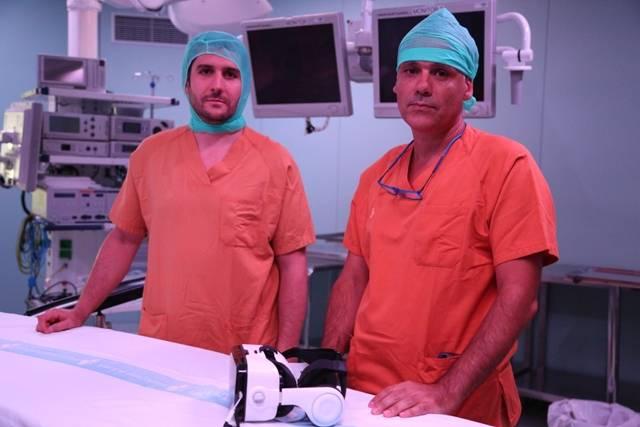 El Dr. Víctor Barro y el Dr. Alejandro Hernández.