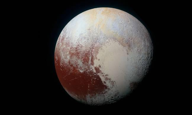 Imagen de Plutón captada por la nave New Horizons