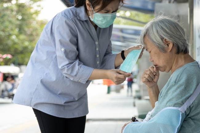 Enfermos en Wuhan