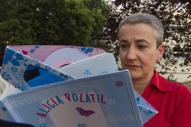 Marta Macho ojea Alicia volátil. Imagen: SINC