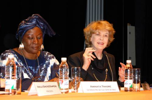 Susan George y Aminata Traoré
