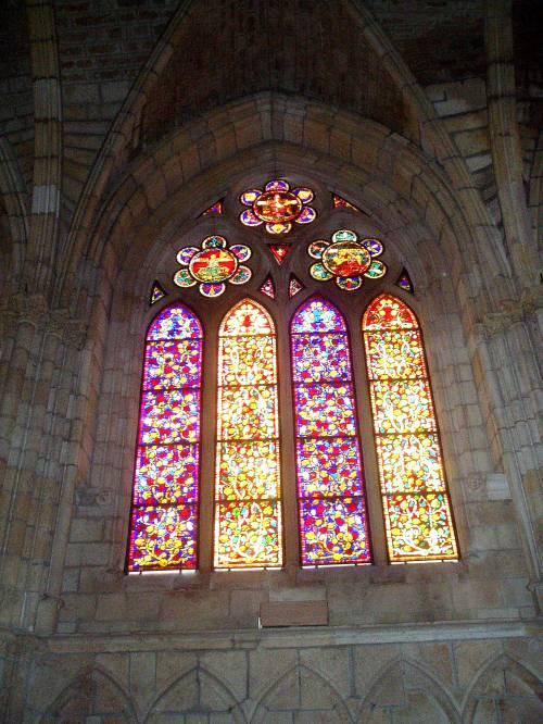 Vidriera catedral de León