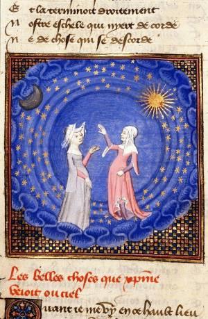 'Le livre du chemin de long estude' (1402) de Christine de Pizan.