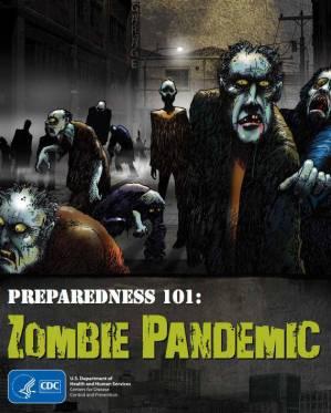 campana zombis cdc - Pandemias de ficción se vuelven virales, ¿qué podemos aprender de ellas?
