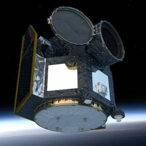 Ilustración del satélite Cheops. / ESA / ATG medialab