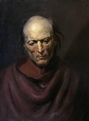 El hombre melancolico - Biólogo español Javier S. Burgos identifica obra del pintor francés Géricault de la serie monomanías que se creía perdida