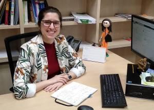 Nereida Bueno, investigadora