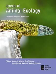 Portada de la revista / Journal of Animal Ecology