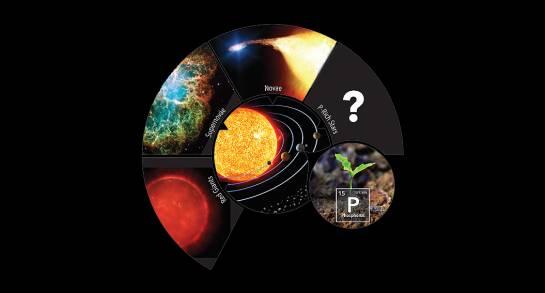 Estrellas ricas en fósforo podrían facilitar este elemento esencial para la vida